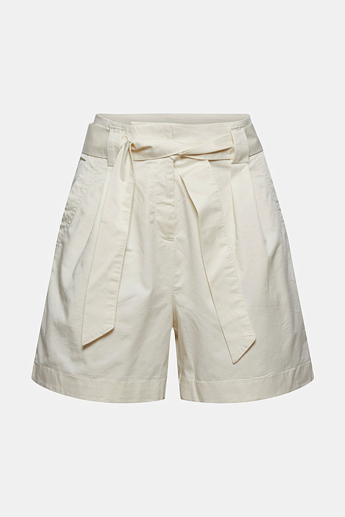 Shorts in a paper bag style with a belt, ICE, detail image number 6