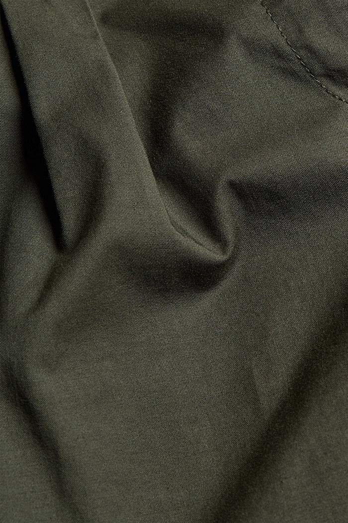 Shorts woven, KHAKI GREEN, detail image number 4