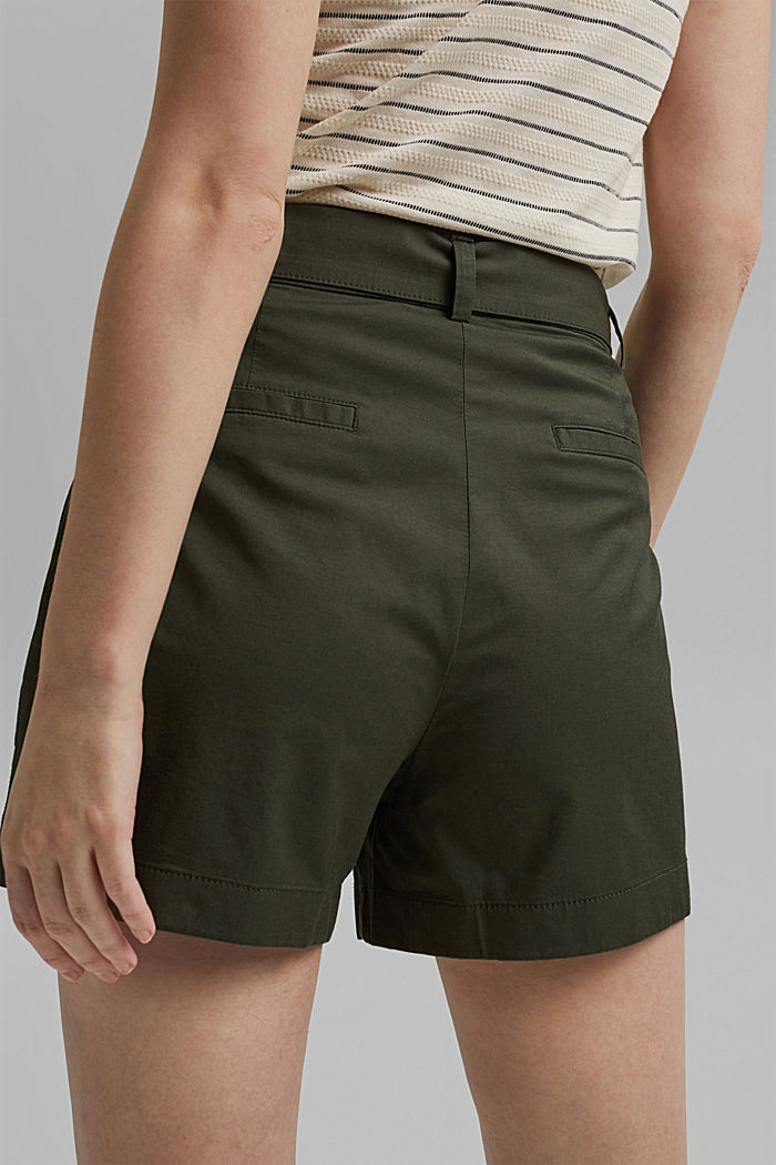 Shorts woven, KHAKI GREEN, detail image number 5