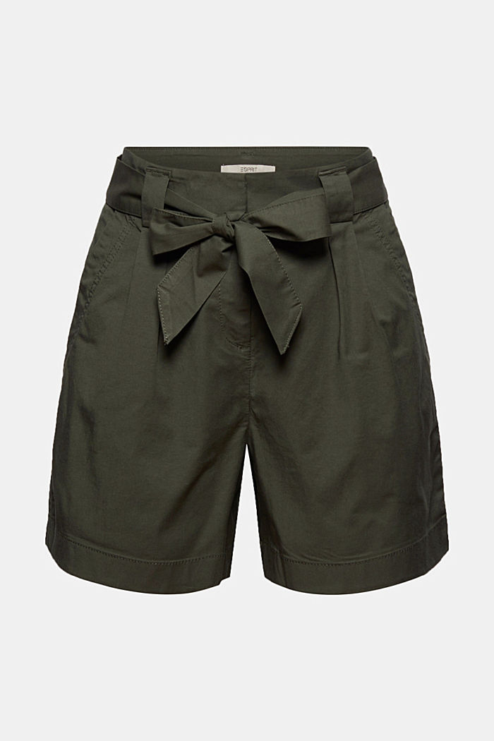 Shorts woven, KHAKI GREEN, detail image number 6