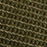 Con cinturón: pantalones cortos estilo militar en algodón Pima, KHAKI GREEN, swatch