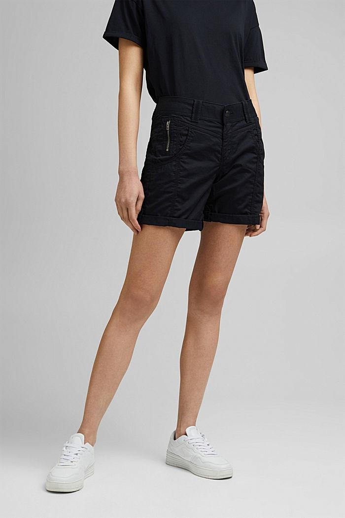 PLAY Shorts aus 100% Organic Cotton, BLACK, detail image number 0