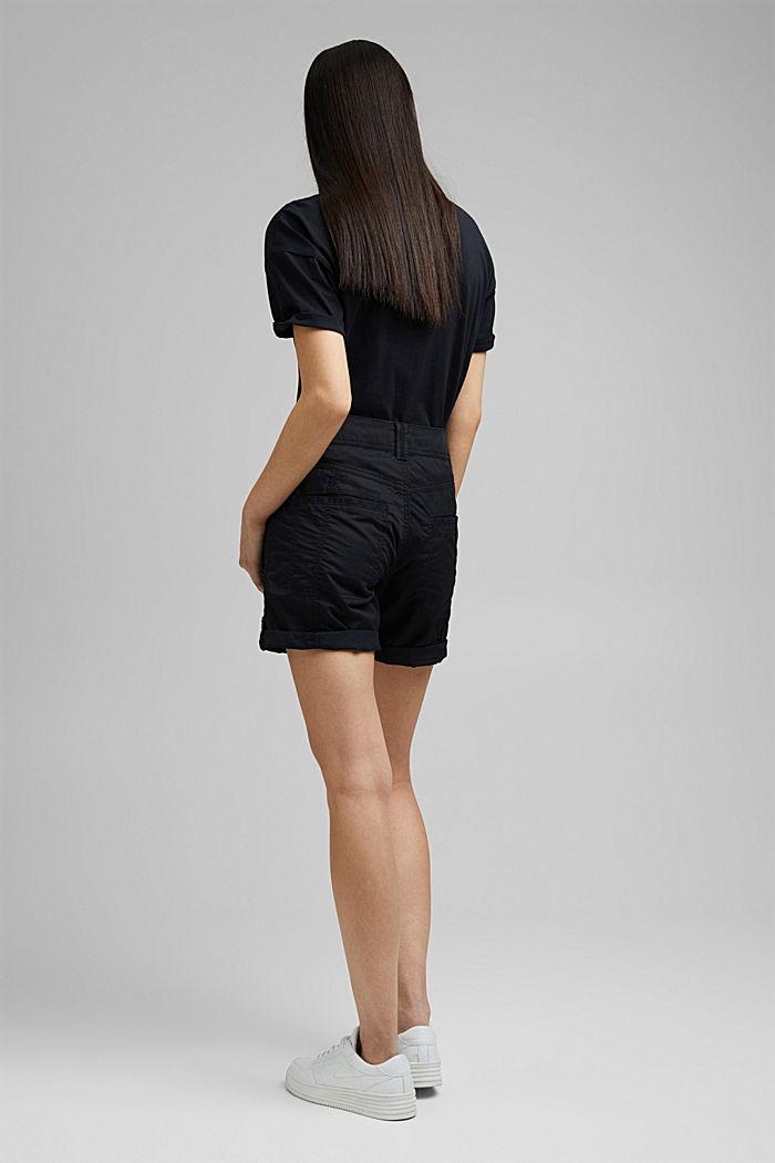 PLAY Shorts aus 100% Organic Cotton, BLACK, detail image number 3