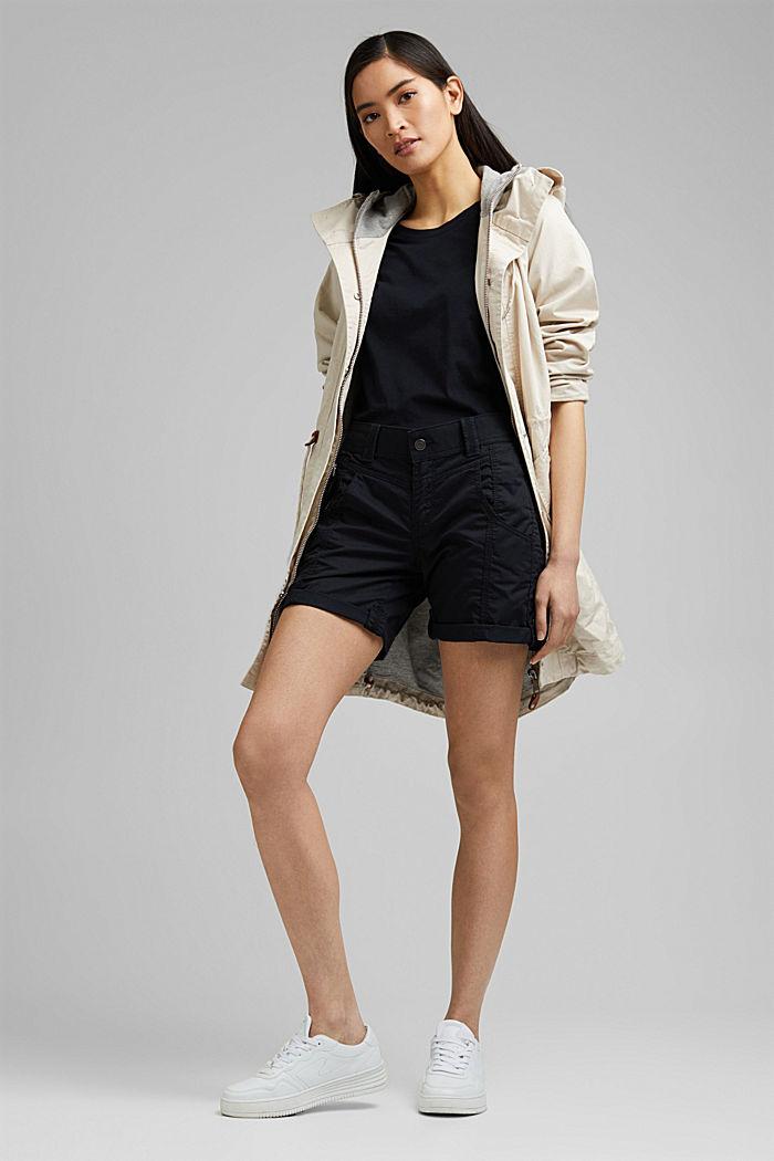 PLAY Shorts aus 100% Organic Cotton, BLACK, detail image number 1