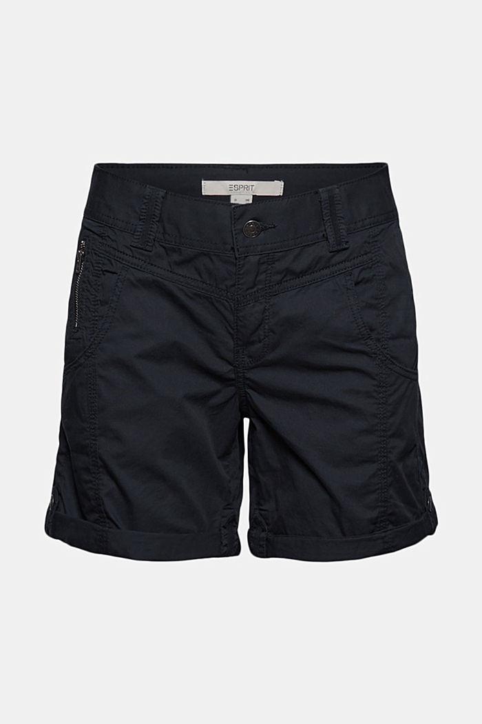 PLAY Shorts aus 100% Organic Cotton, BLACK, detail image number 6