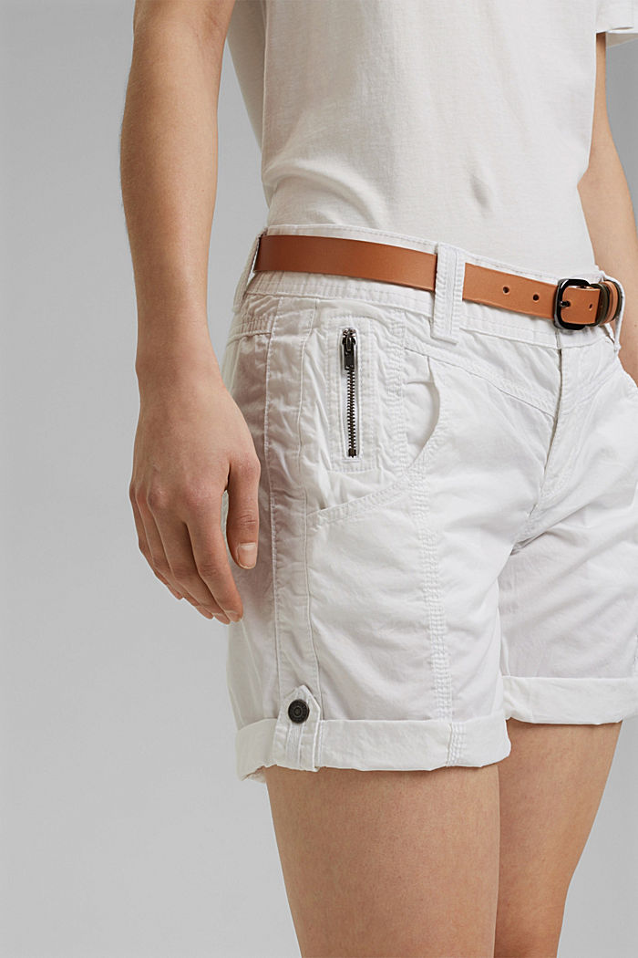 PLAY shorts en 100% algodón ecológico, WHITE, detail image number 2