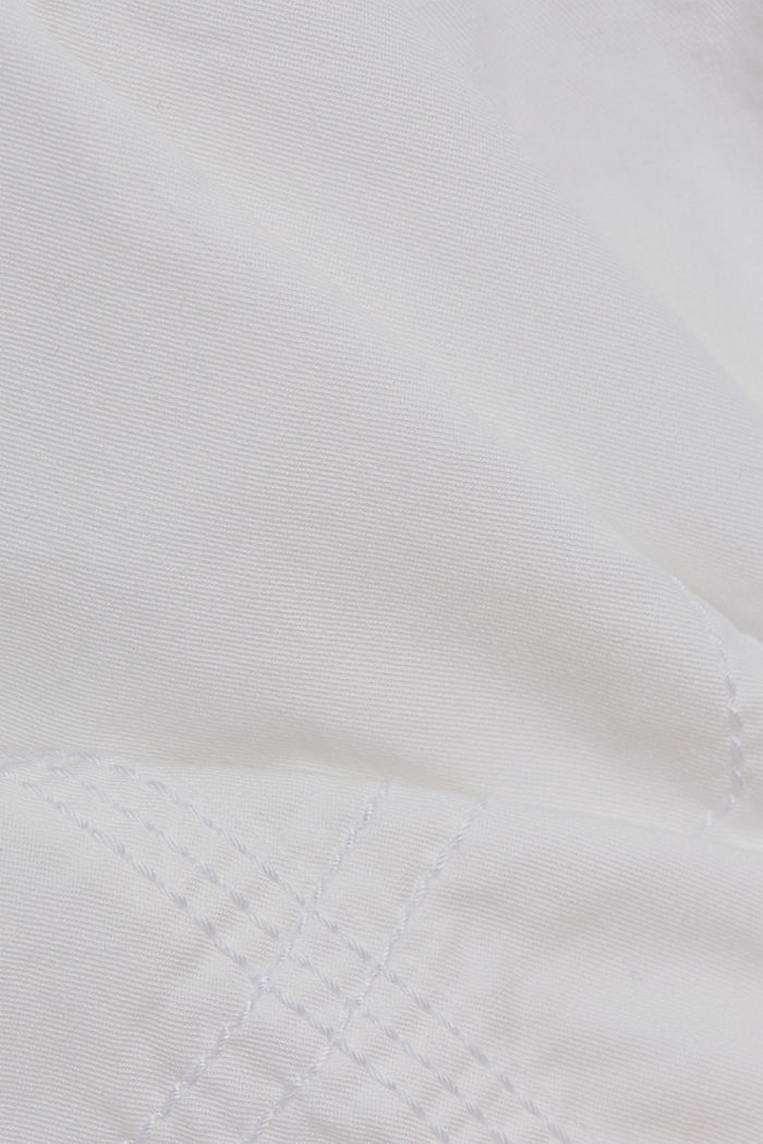 PLAY shorts en 100% algodón ecológico, WHITE, detail image number 4