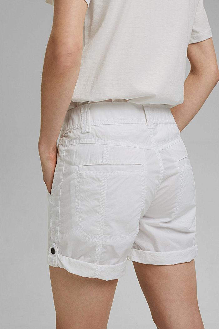 PLAY shorts en 100% algodón ecológico, WHITE, detail image number 5
