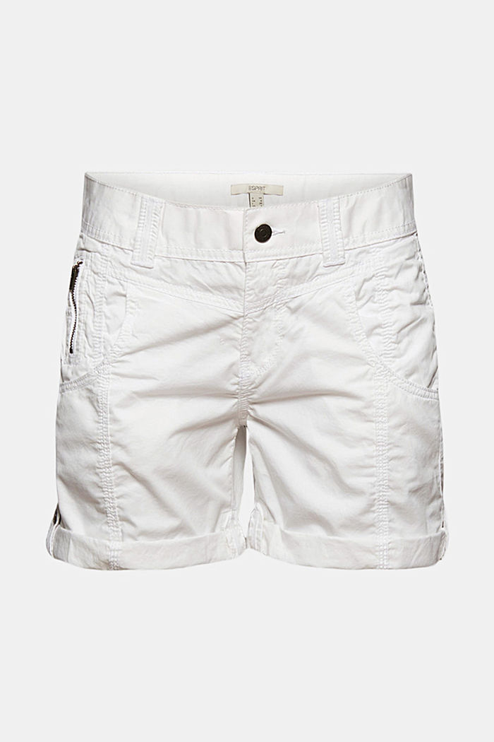 PLAY shorts en 100% algodón ecológico, WHITE, detail image number 6