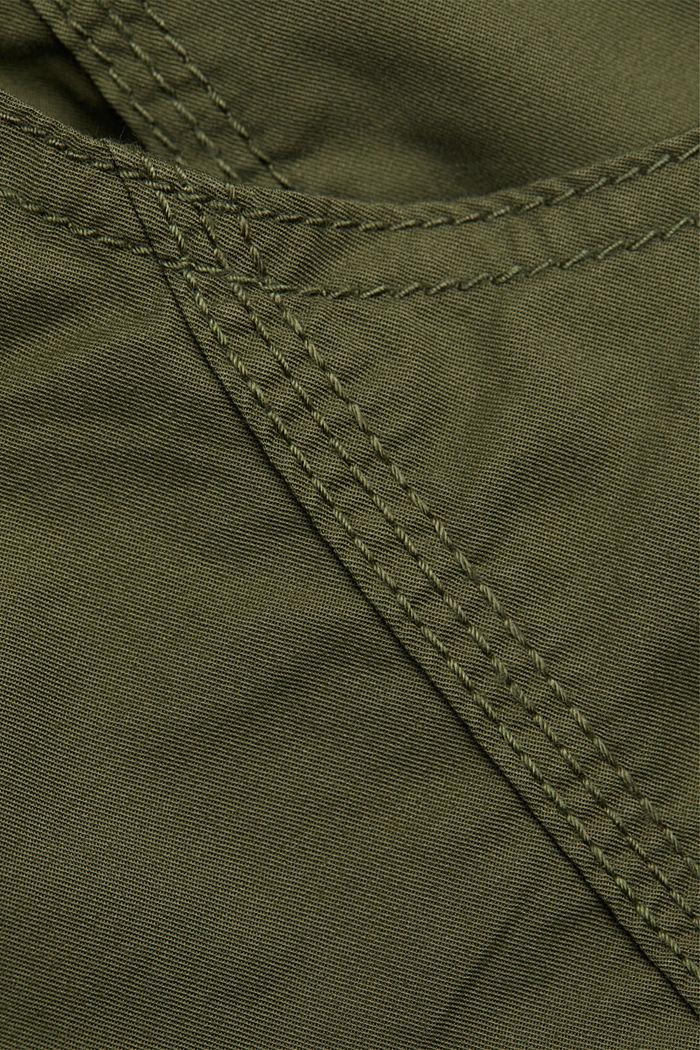 PLAY Shorts aus 100% Organic Cotton, KHAKI GREEN, detail image number 4