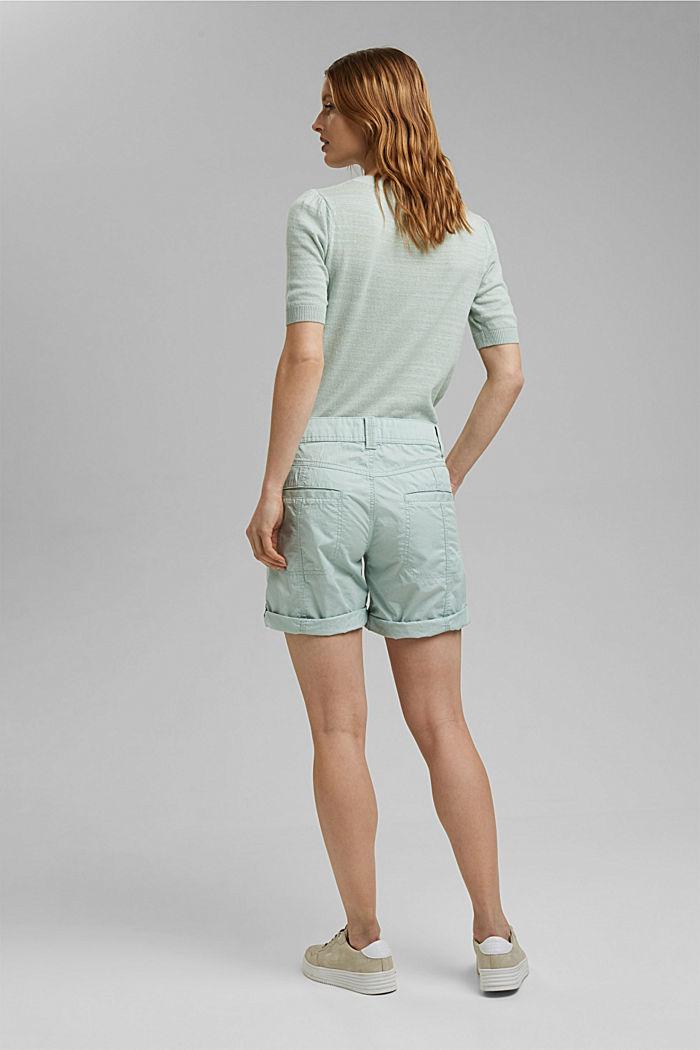PLAY shorts made of 100% organic cotton, LIGHT AQUA GREEN, detail image number 3