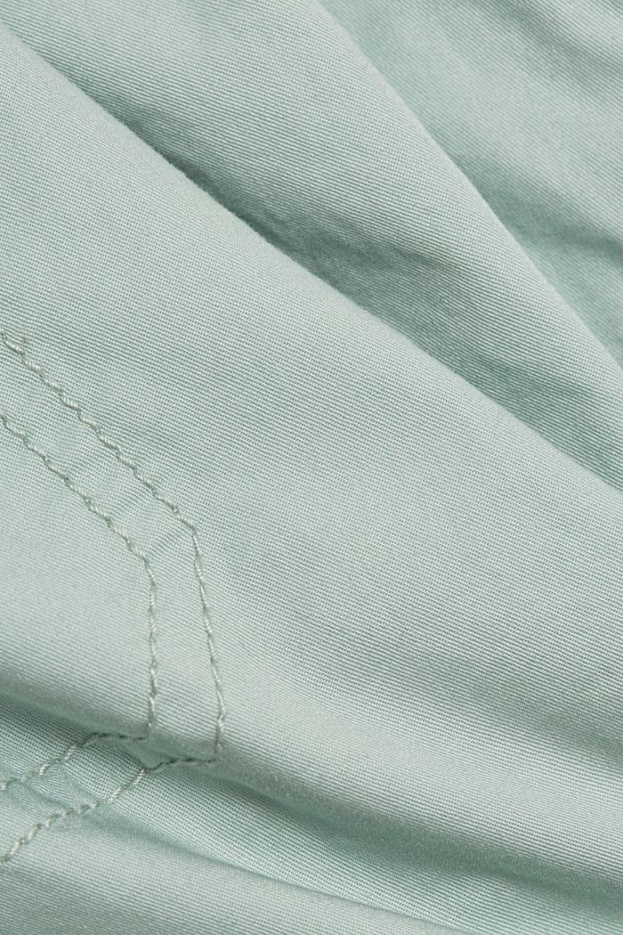 PLAY shorts made of 100% organic cotton, LIGHT AQUA GREEN, detail image number 4