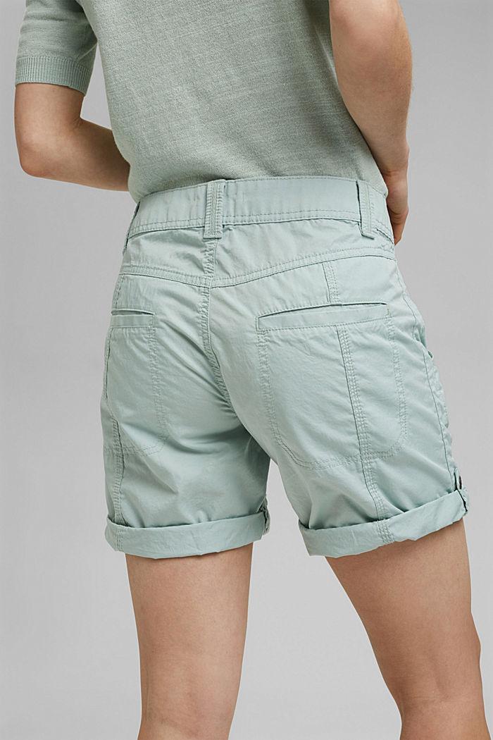 PLAY shorts made of 100% organic cotton, LIGHT AQUA GREEN, detail image number 5