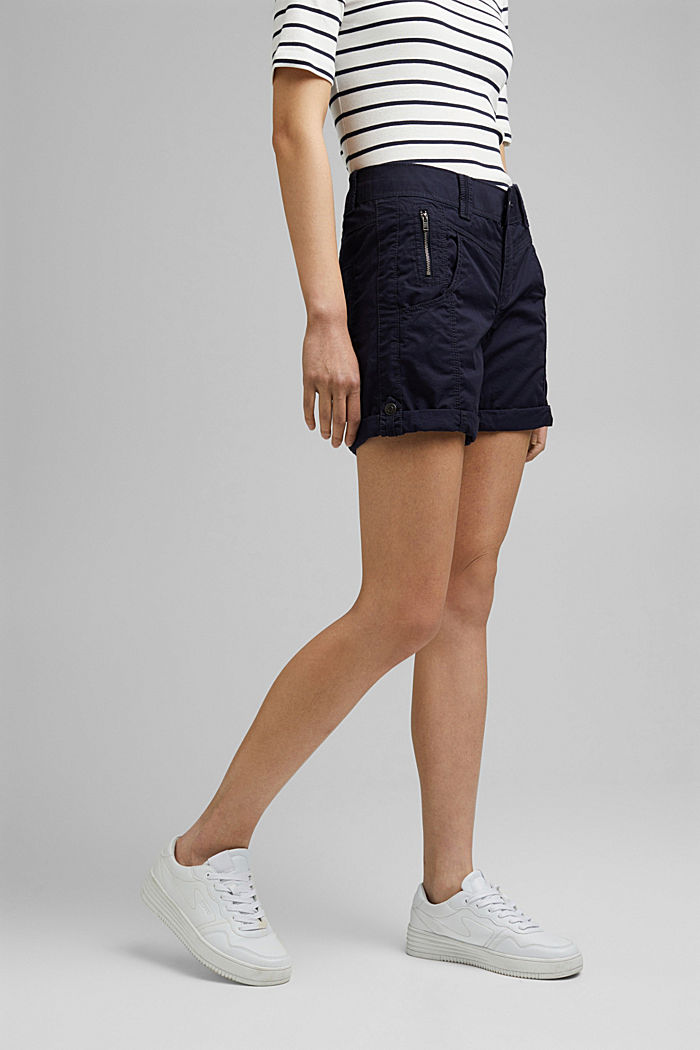 PLAY shorts made of 100% organic cotton, NAVY, detail image number 0