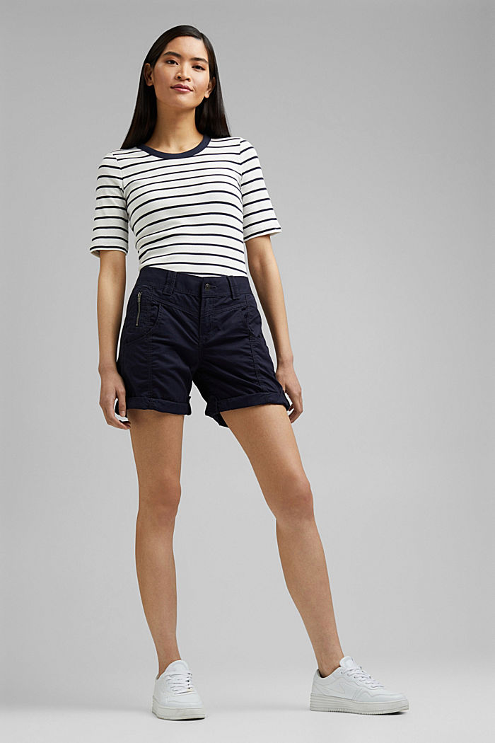 PLAY shorts made of 100% organic cotton, NAVY, detail image number 1