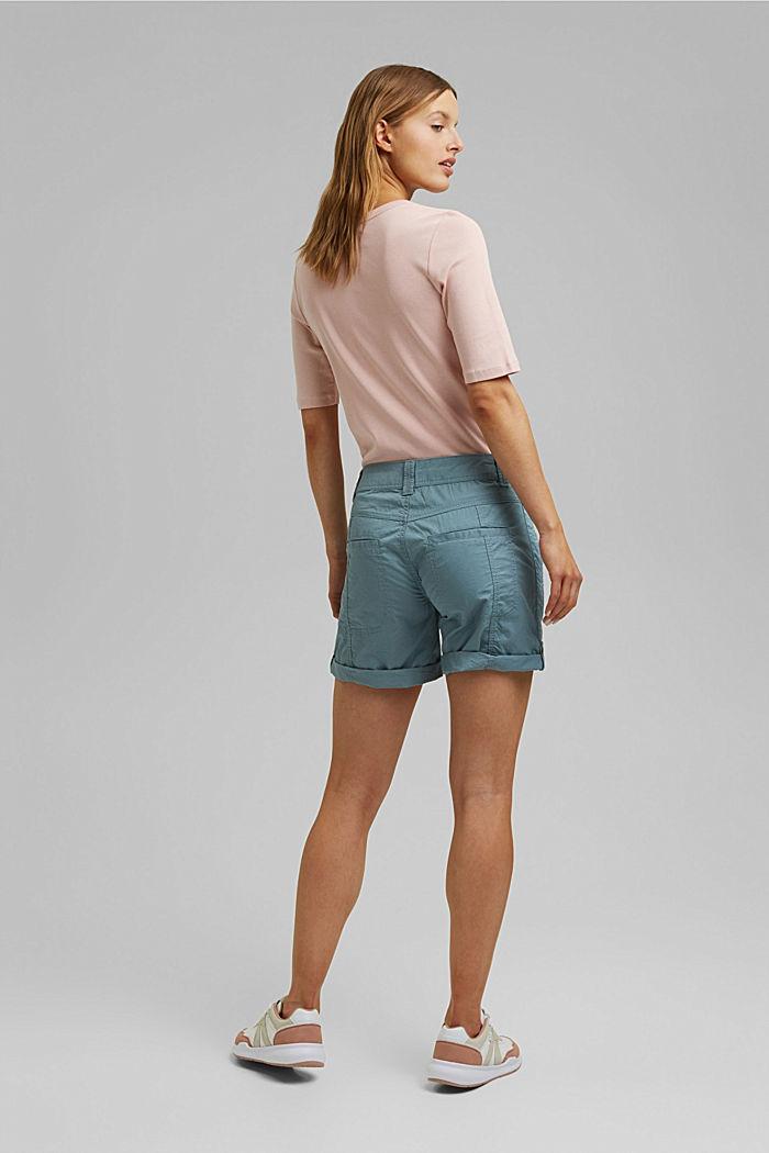 PLAY Shorts aus 100% Organic Cotton, GREY BLUE, detail image number 3