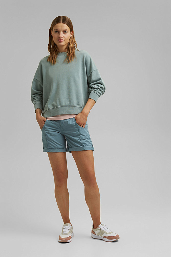 PLAY Shorts aus 100% Organic Cotton, GREY BLUE, detail image number 1