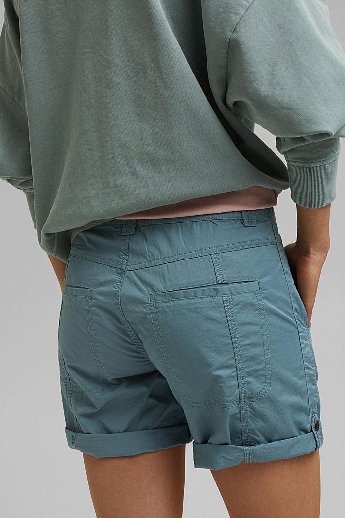 PLAY Shorts aus 100% Organic Cotton, GREY BLUE, detail image number 5