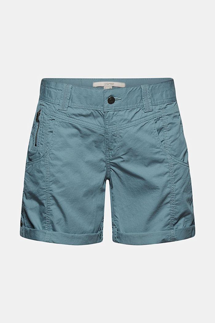 PLAY Shorts aus 100% Organic Cotton, GREY BLUE, detail image number 6