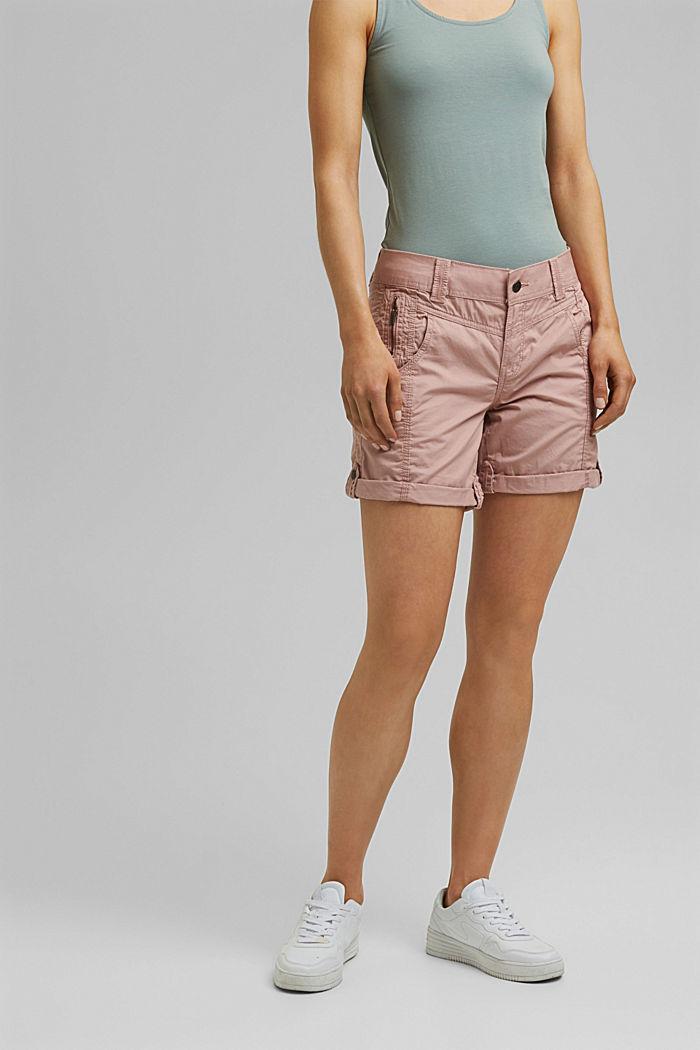 PLAY Shorts aus 100% Organic Cotton, OLD PINK, detail image number 0
