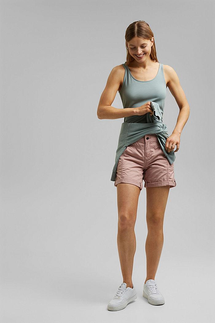 PLAY Shorts aus 100% Organic Cotton, OLD PINK, detail image number 1