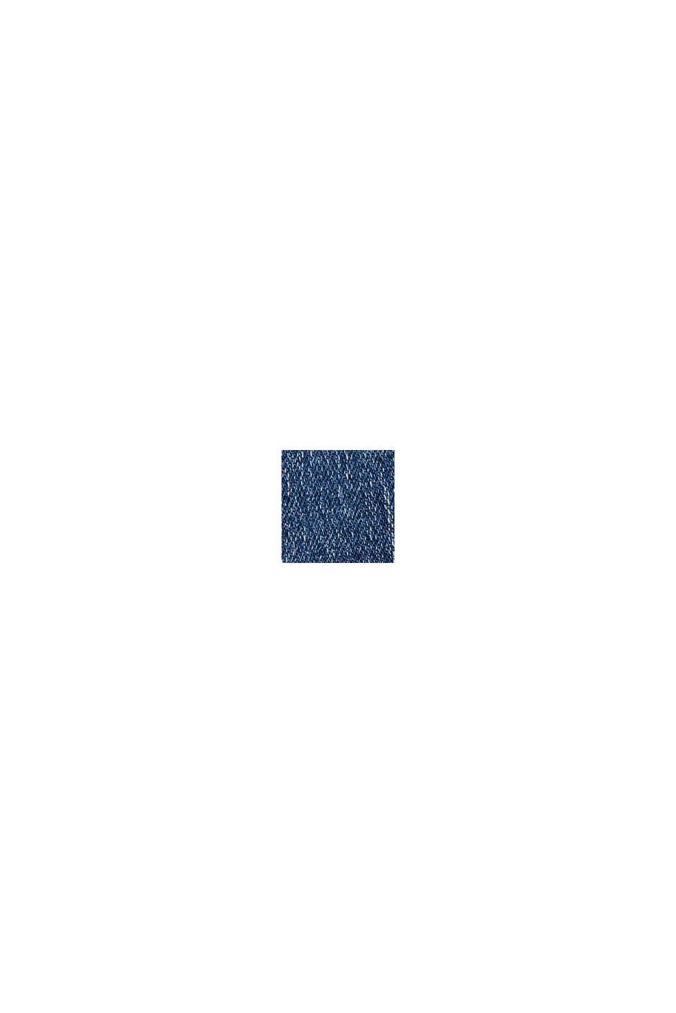 Denimnederdel af økologisk bomuld, BLUE MEDIUM WASHED, swatch