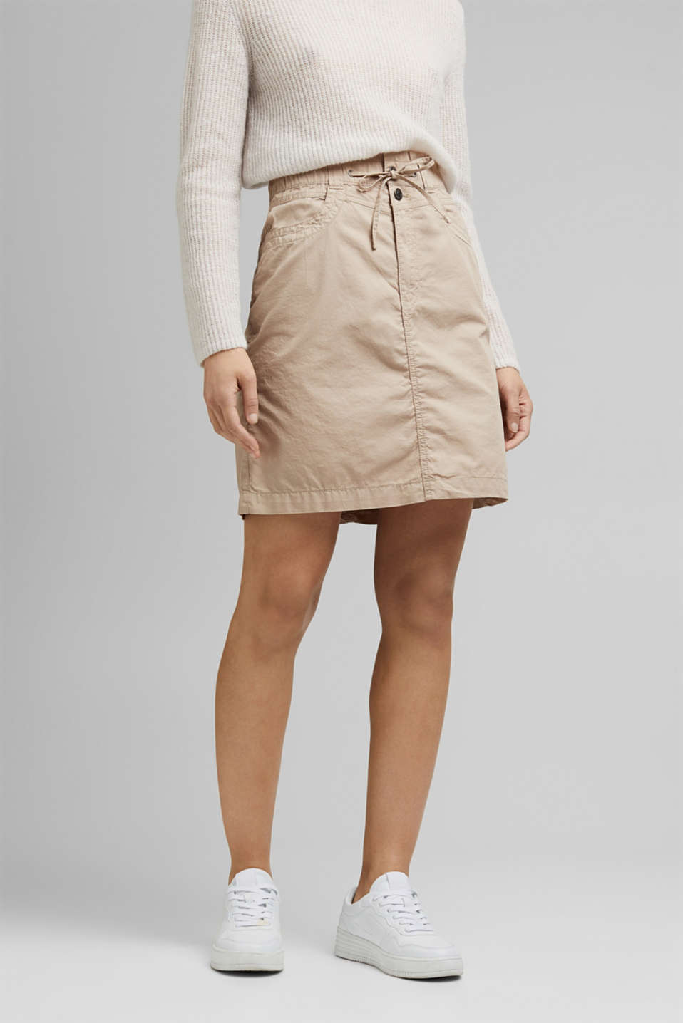 Esprit - PLAY mini skirt made of 100% organic cotton