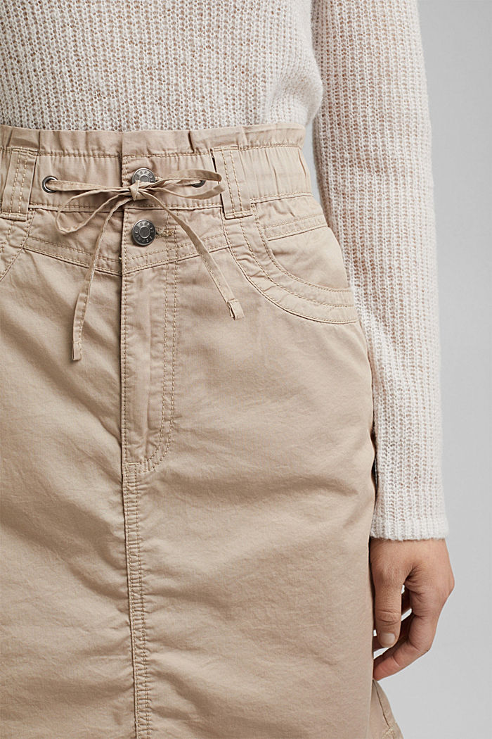 PLAY mini skirt made of 100% organic cotton, BEIGE, detail image number 2