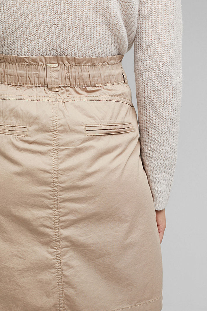 PLAY mini skirt made of 100% organic cotton, BEIGE, detail image number 5