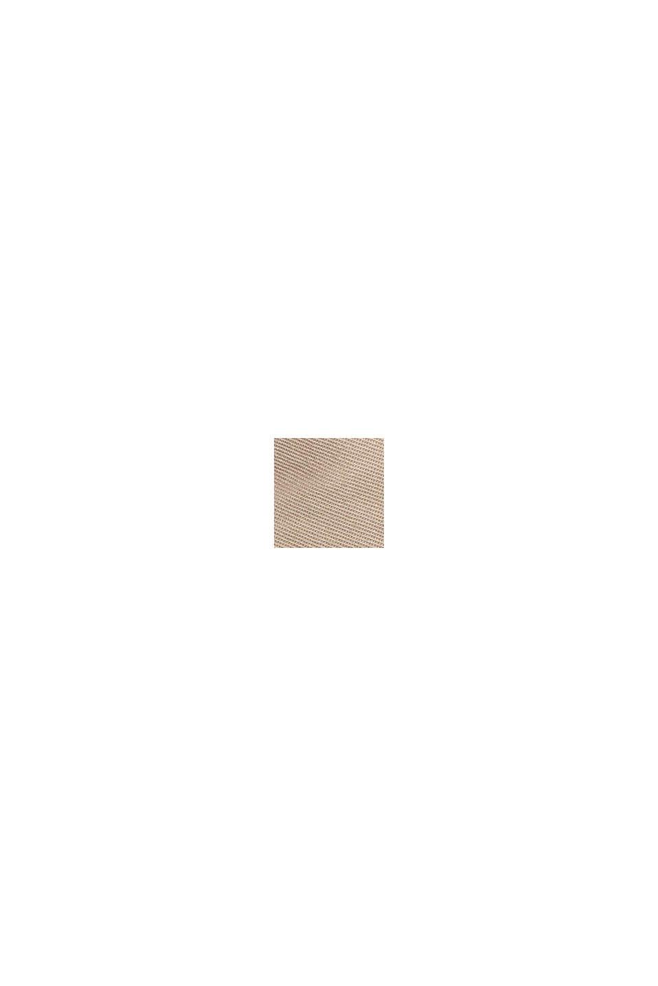 Minigonna PLAY in 100% cotone biologico, BEIGE, swatch