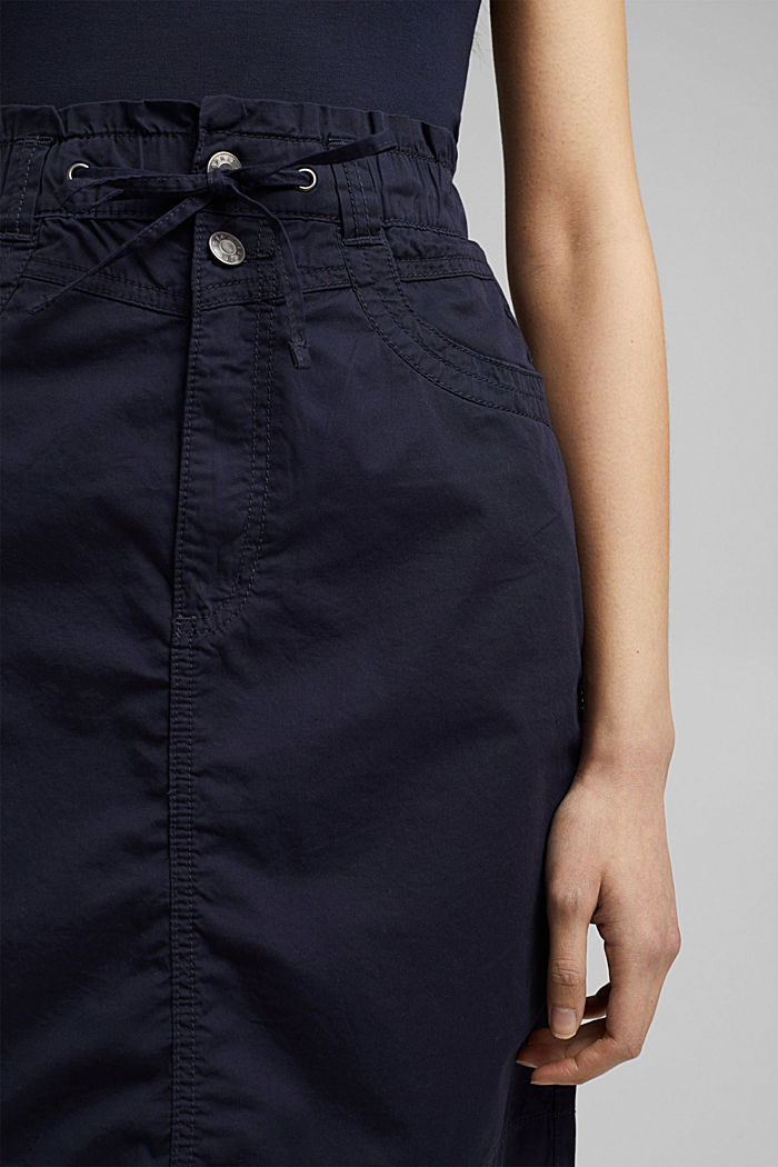 PLAY mini skirt made of 100% organic cotton, NAVY, detail image number 2