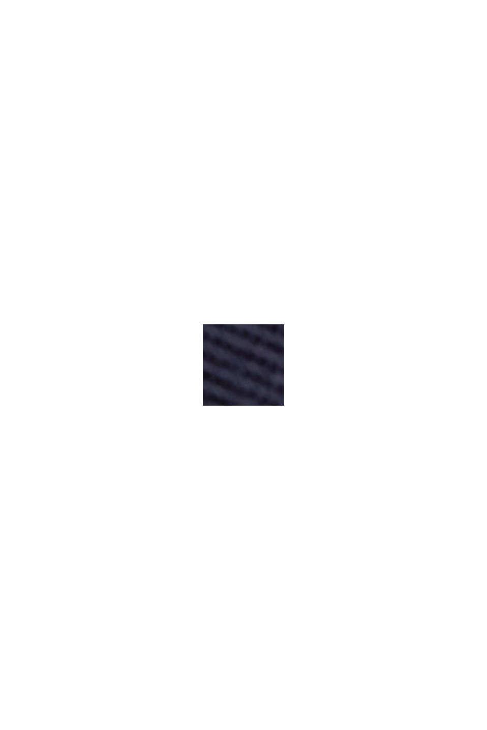 Minigonna PLAY in 100% cotone biologico, NAVY, swatch