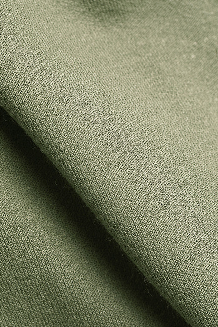 Jersey dress made of LENZING™ ECOVERO™, LIGHT KHAKI, detail image number 5