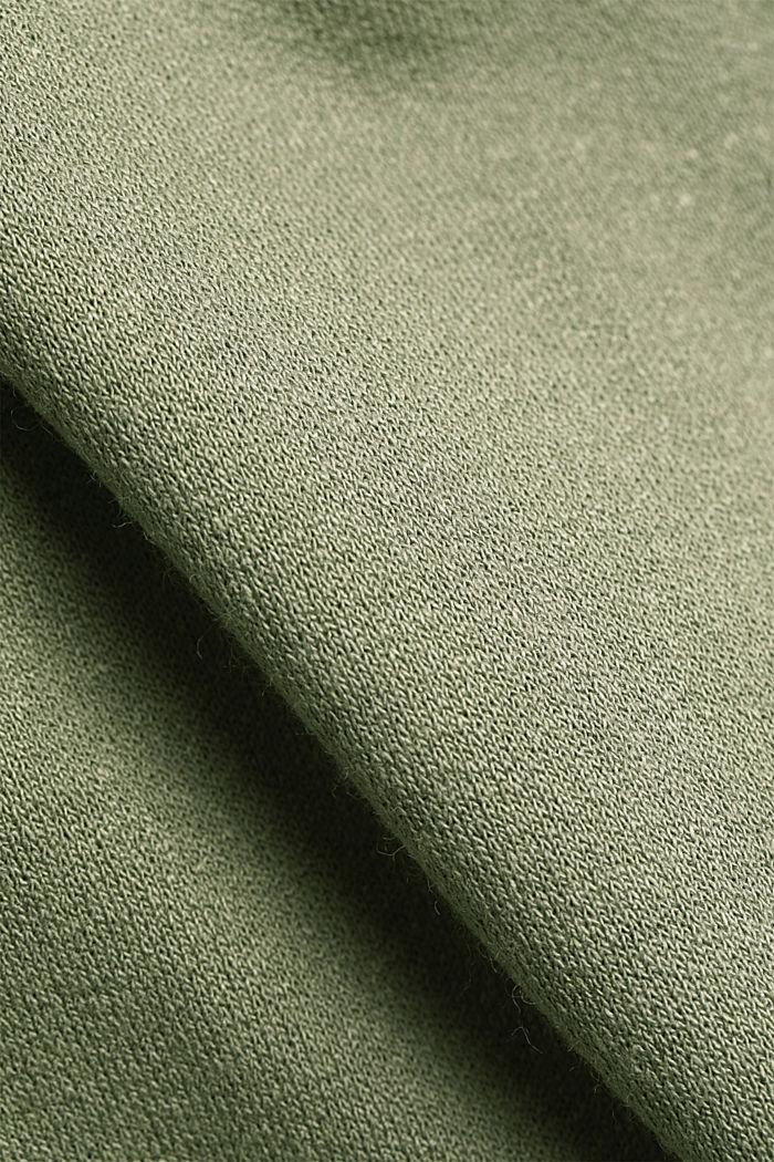 Jersey-Kleid aus LENZING™ ECOVERO™, LIGHT KHAKI, detail image number 5