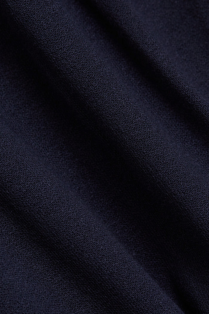 Jersey dress made of LENZING™ ECOVERO™, NAVY, detail image number 4