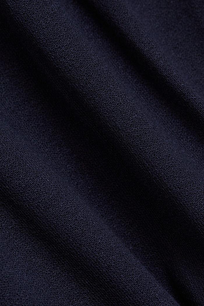 Jersey jurk van LENZING™ ECOVERO™, NAVY, detail image number 4