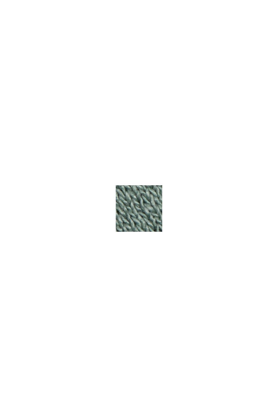 Jersey-Kleid aus LENZING™ ECOVERO™, TURQUOISE, swatch