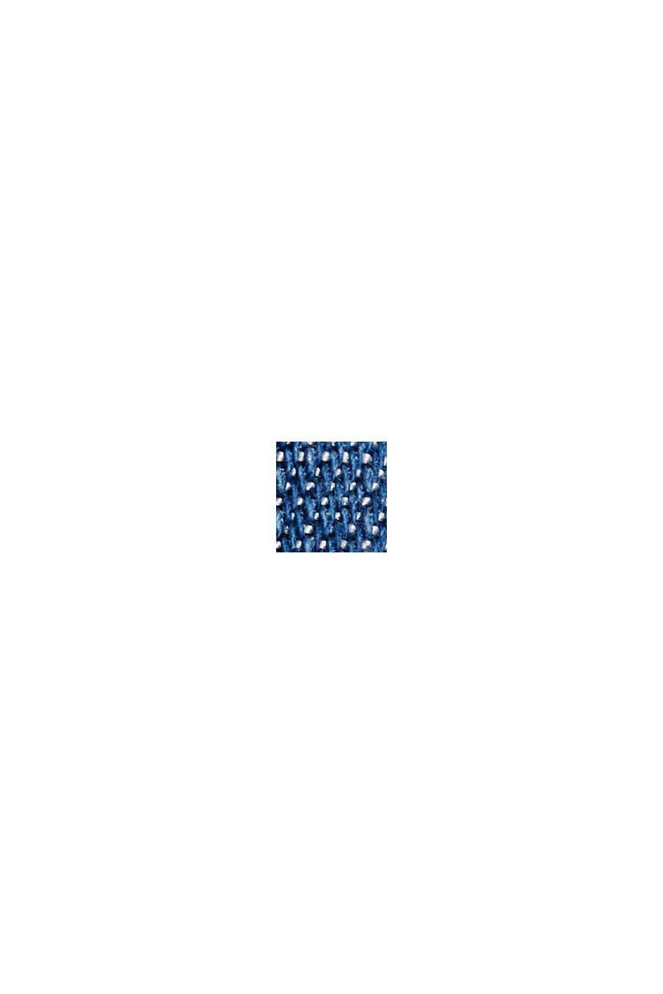 Aus TENCEL™: Kleid im Denim-Look, BLUE MEDIUM WASHED, swatch