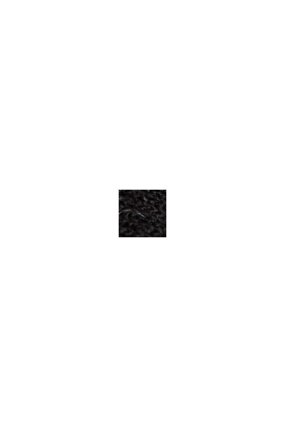 Kjole med millefleurprint, af LENZING™ ECOVERO™, BLACK, swatch