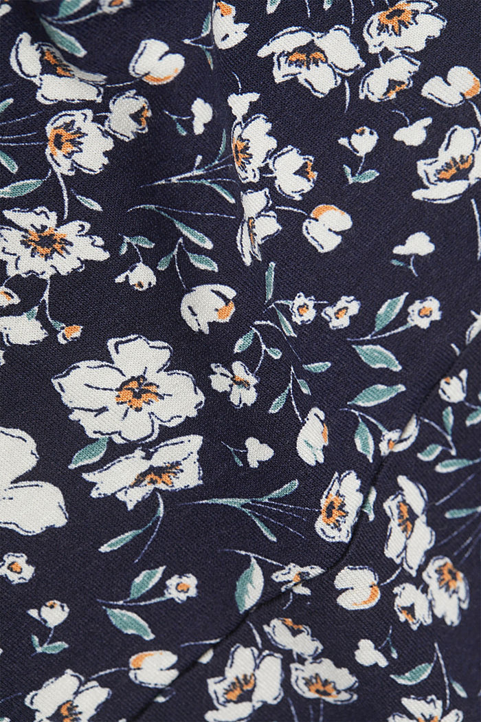 Mille-fleurs dress made of LENZING™ ECOVERO™, NAVY, detail image number 4