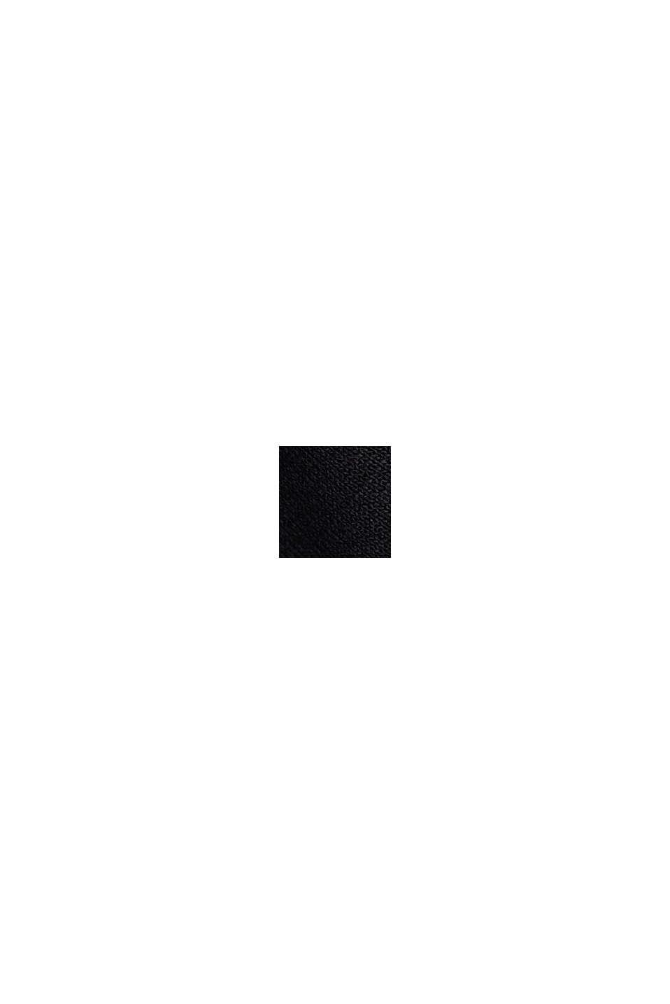 Jersey-Kleid aus LENZING™ ECOVERO™, BLACK, swatch