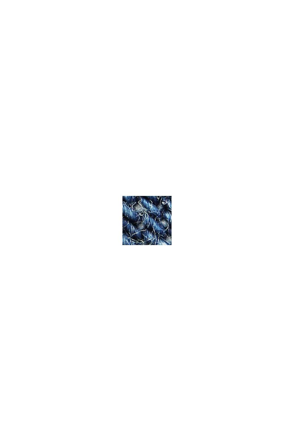 Jeansklänning i tunikalook, ekologisk bomull, BLUE MEDIUM WASHED, swatch