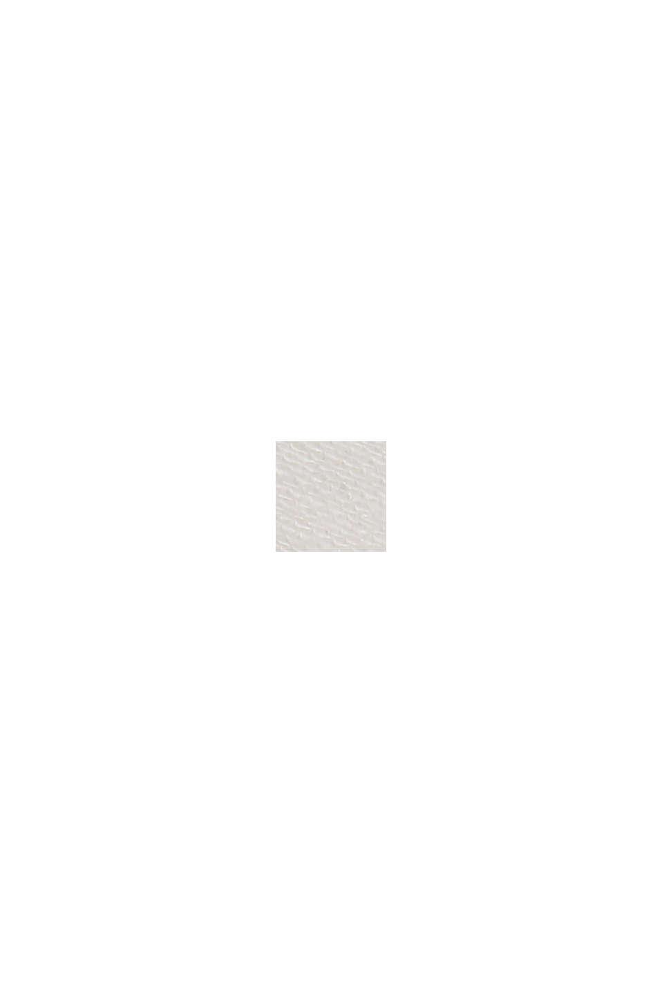 Mit Leinen: Hemdblusen-Kleid mit Gürtel, WHITE, swatch