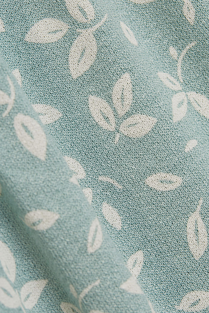 Jersey dress made of LENZING™ ECOVERO™, LIGHT AQUA GREEN, detail image number 4
