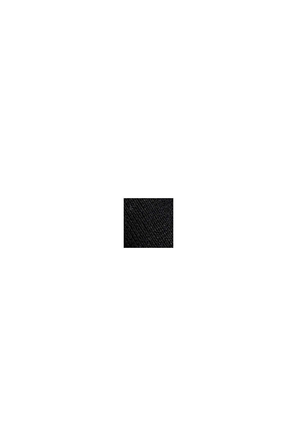 Vestido de jersey compacto y elástico, BLACK, swatch
