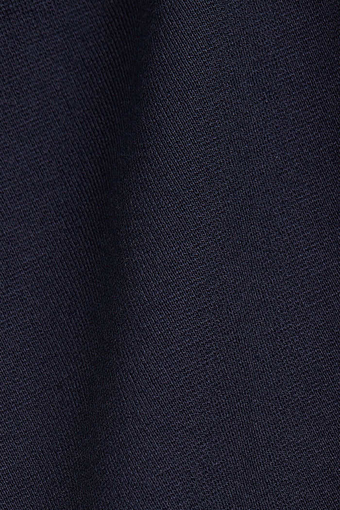 Dress in compact stretch jersey, NAVY, detail image number 4