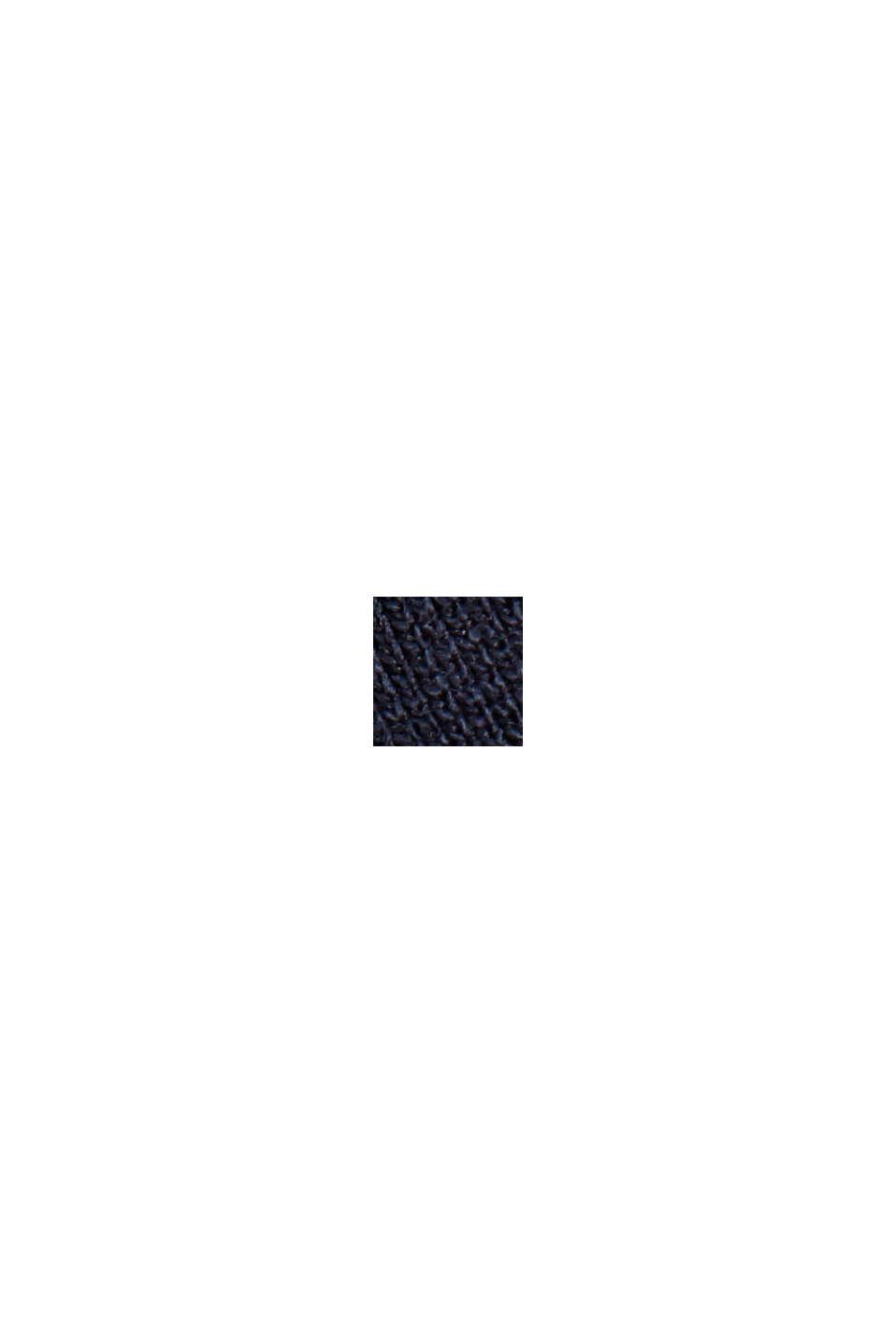 Vestido de jersey compacto y elástico, NAVY, swatch