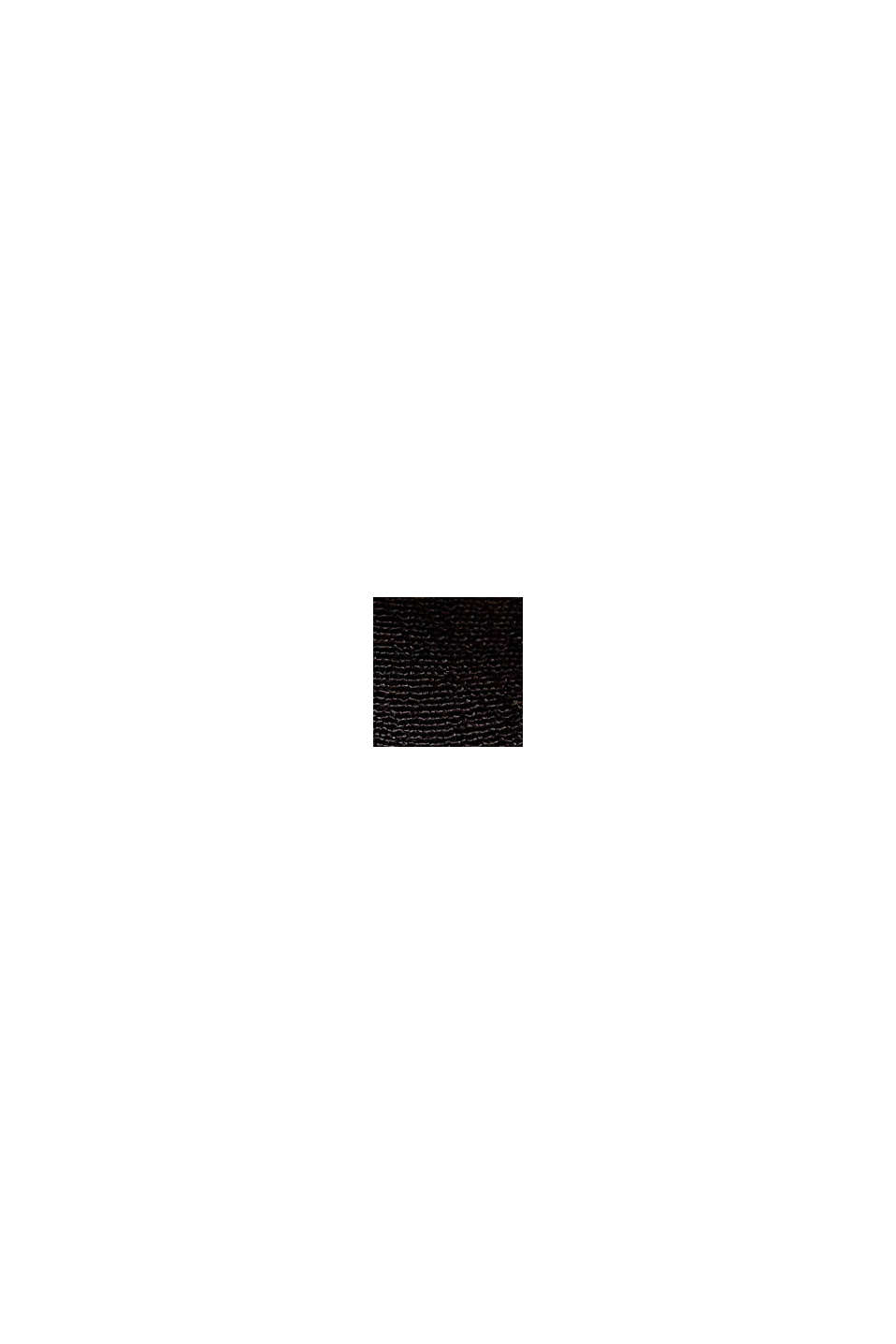 Top mit Knopfleiste aus LENZING™ ECOVERO™, BLACK, swatch