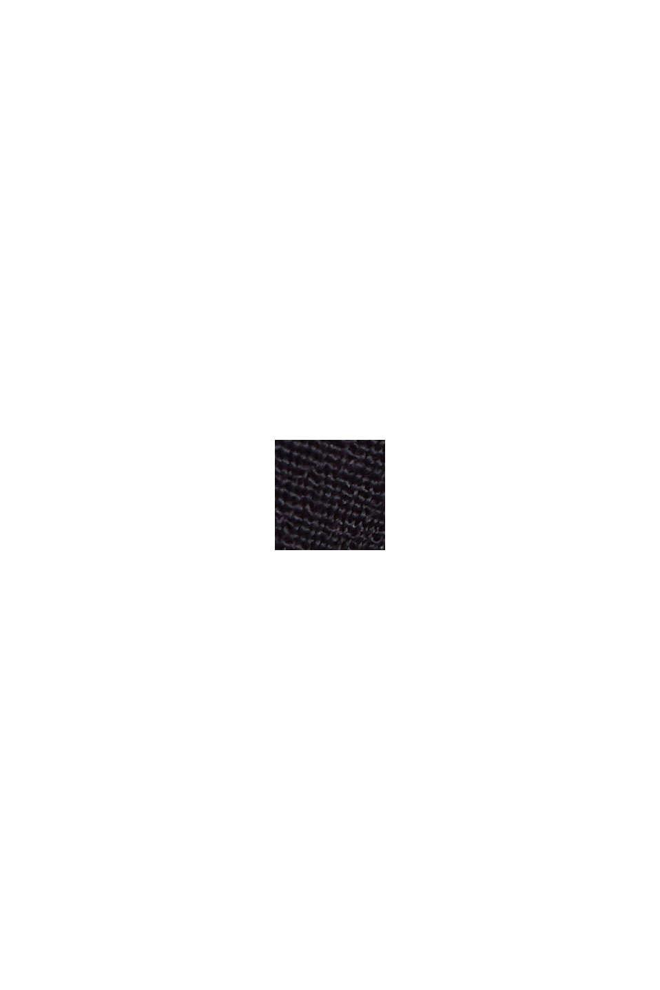 Top mit Knopfleiste aus LENZING™ ECOVERO™, NAVY, swatch