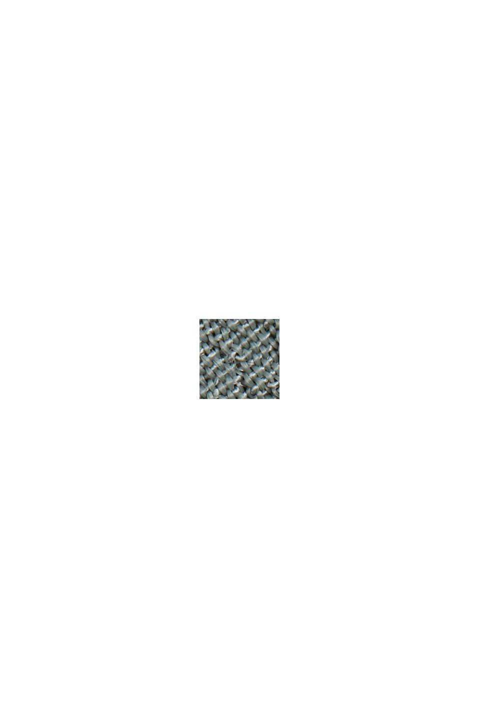 Top mit Knopfleiste aus LENZING™ ECOVERO™, TURQUOISE, swatch